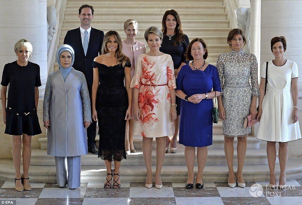 Pierwsze damy z mężem prezydenta Luksemburga