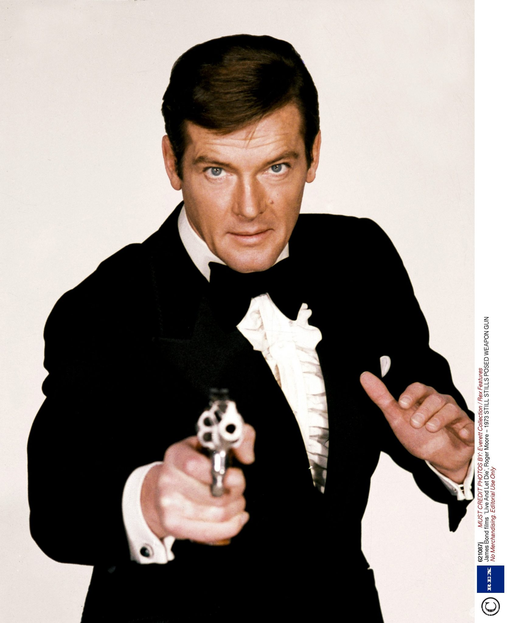 Nie żyje James Bond - Roger Moore
