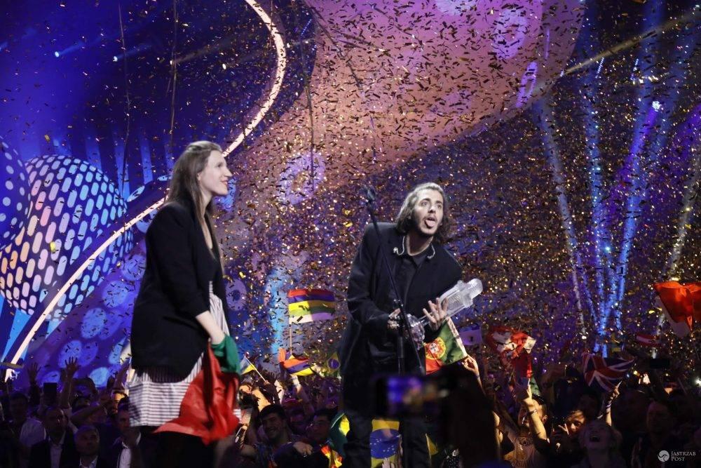 Salvador Sobral zwycięzcą Eurowizji 2017