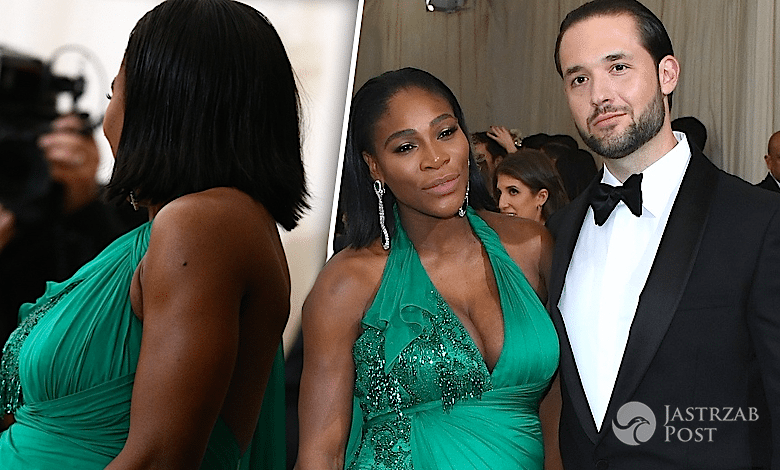 Serena Williams w ciąży na MET GALA 2017