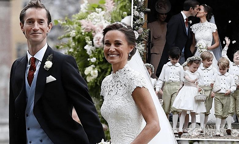 Ślub Pippy Middleton i Jamesa Matthewsa zdjęcia