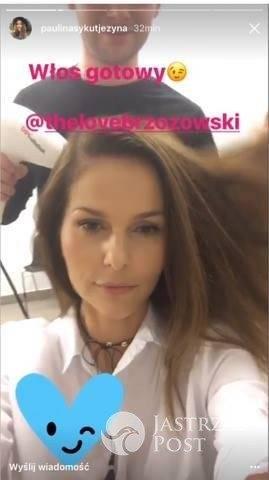 Nowa fryzura Pauliny Sykut