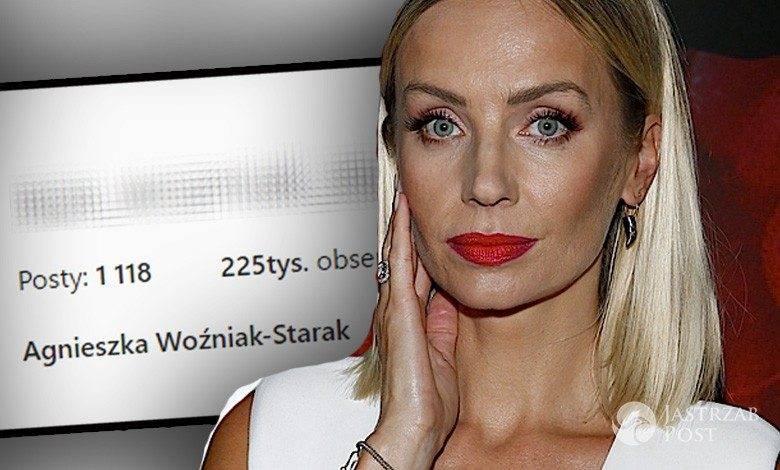 Agnieszka Woźniak-Starak zmieniła nazwę na Instagramie