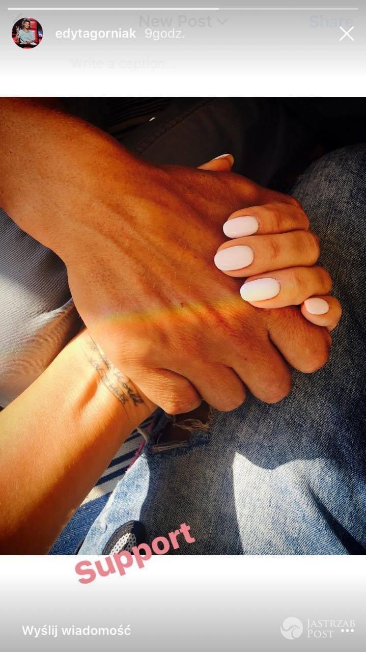 Edyta Górniak trzyma się z Allanem za ręce
