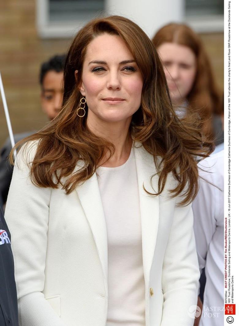 Księżna Kate w marynarce z sieciówki na oficjalnym wystąpieniu