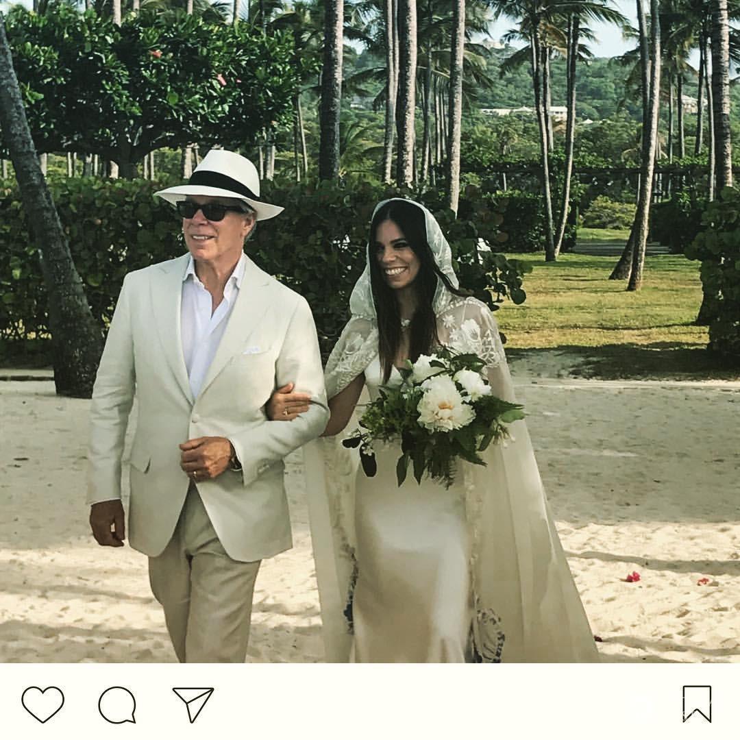 Tommy Hilfiger zaprowadził córkę do ołtarza