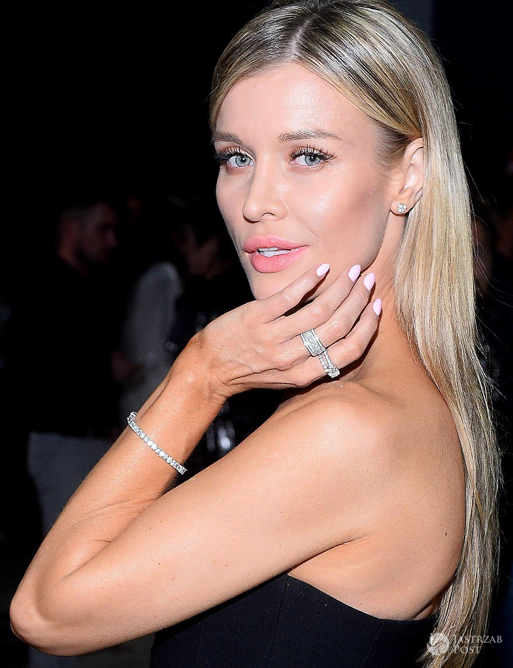 Joanna Krupa z pastelowym manicure
