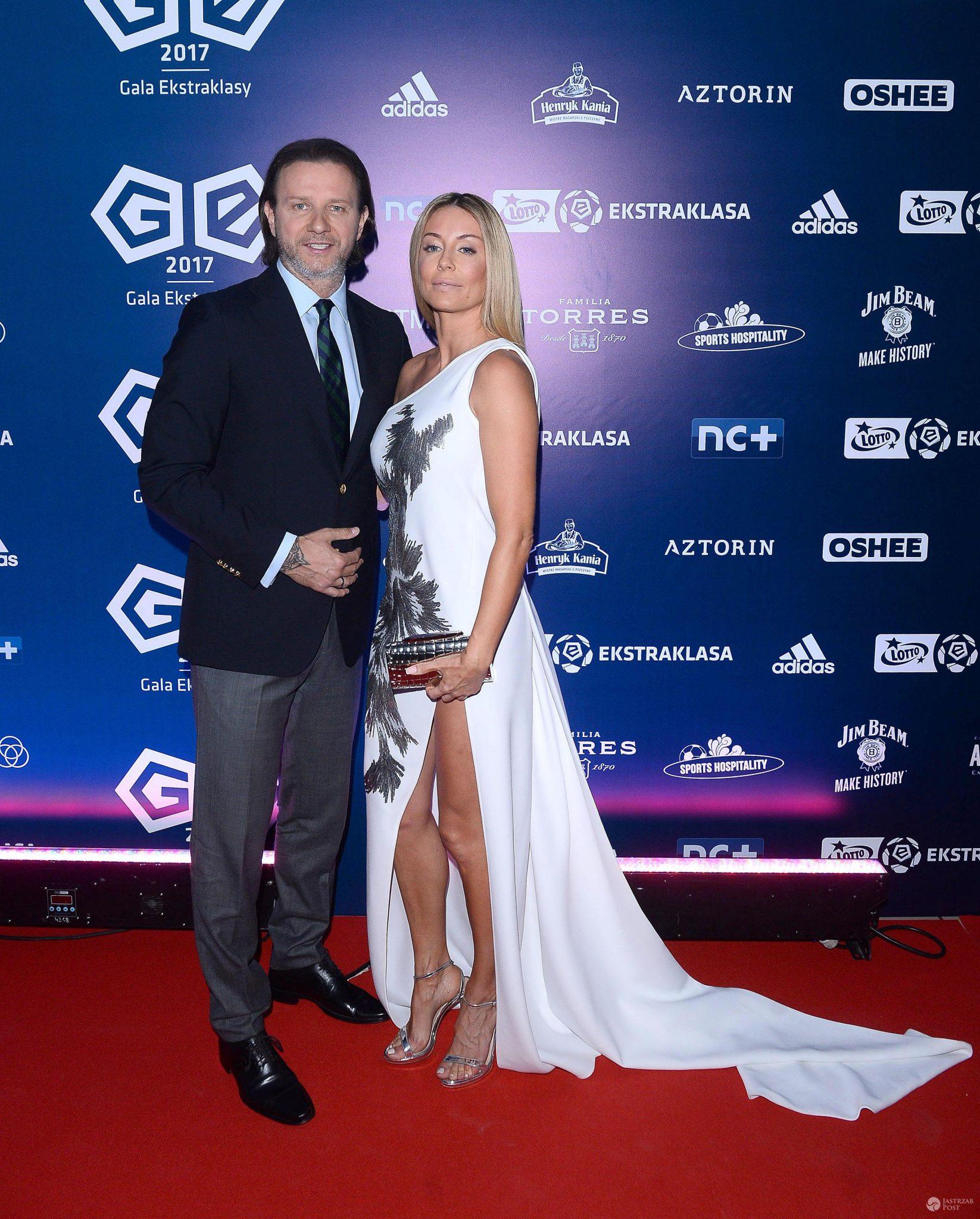Małgorzata Rozenek na gali Ekstraklasy 2017