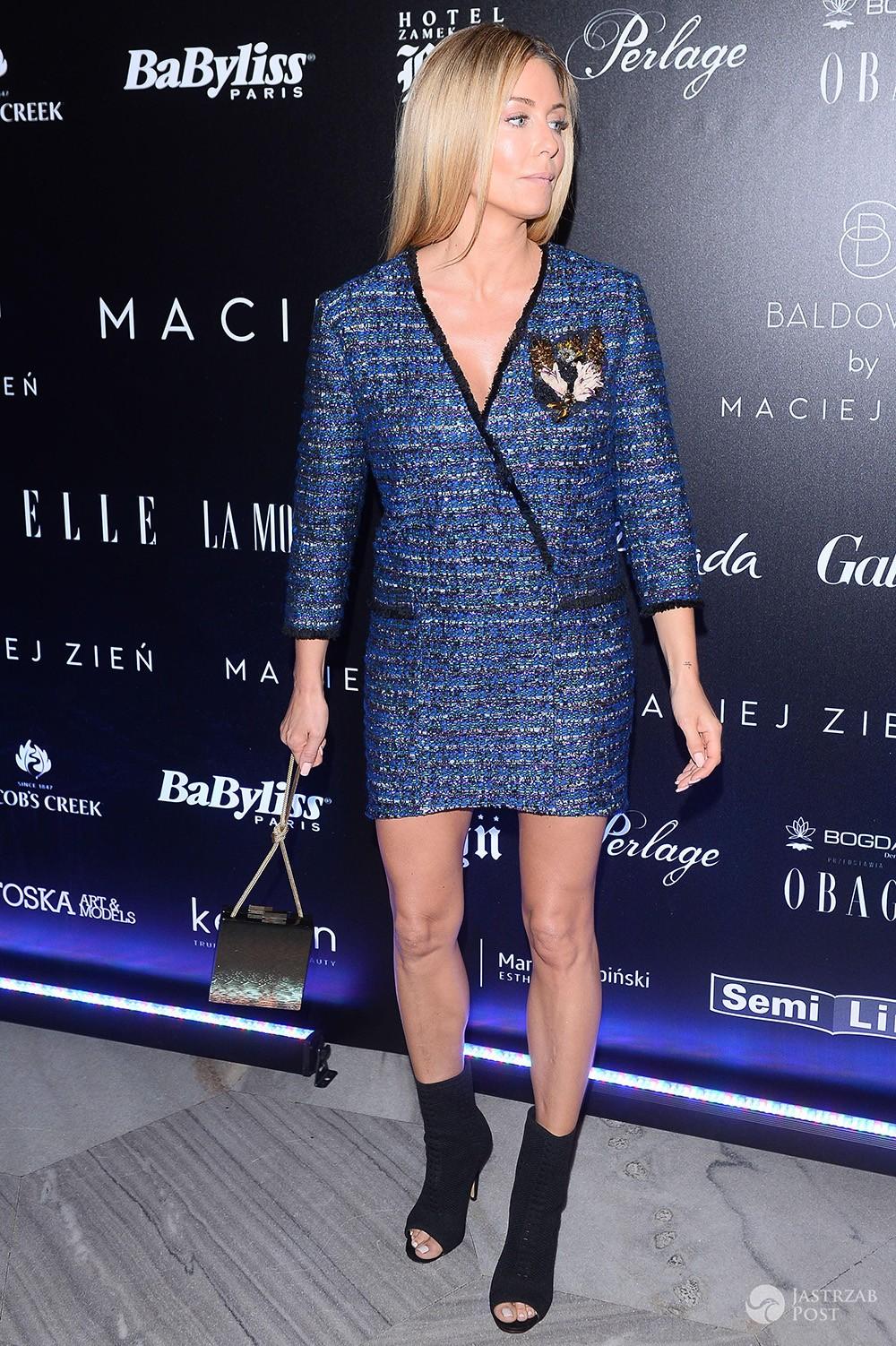 Małgorzata Rozenek w sukience Macieja Zienia