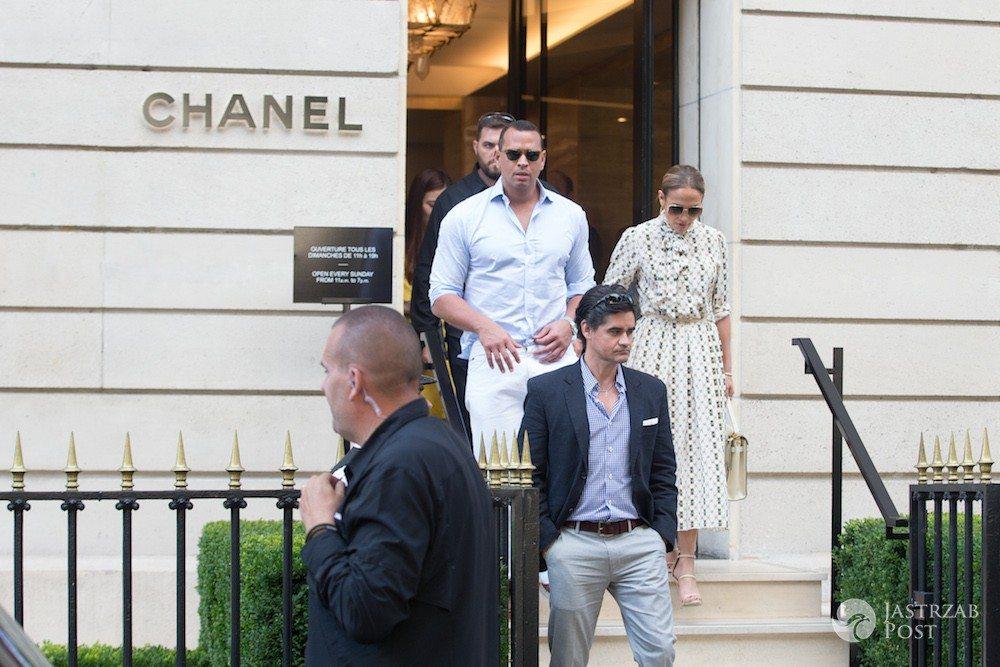 Jennifer Lopez i Alex Rodriguez w Paryżu
