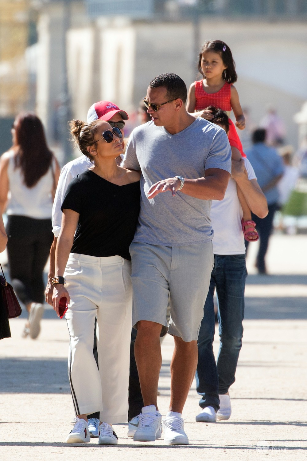 Jennifer Lopez i Alex Rodriguez we Francji