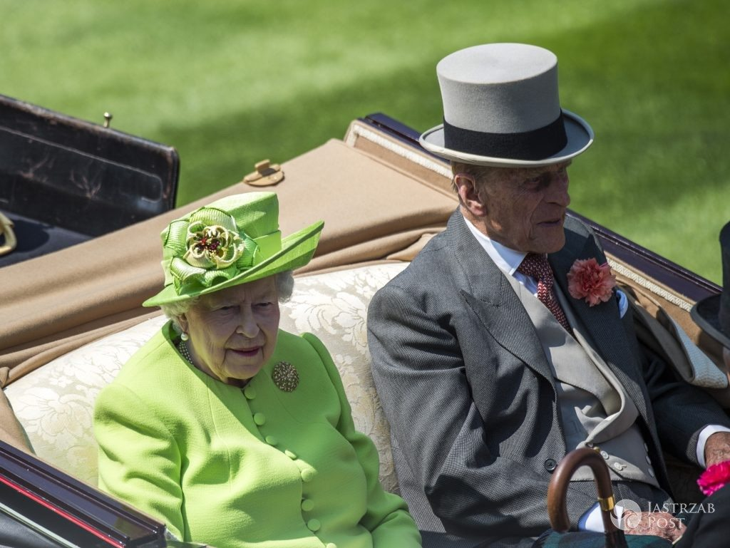 The Queen with Prince Philip Royal Ascot 2017