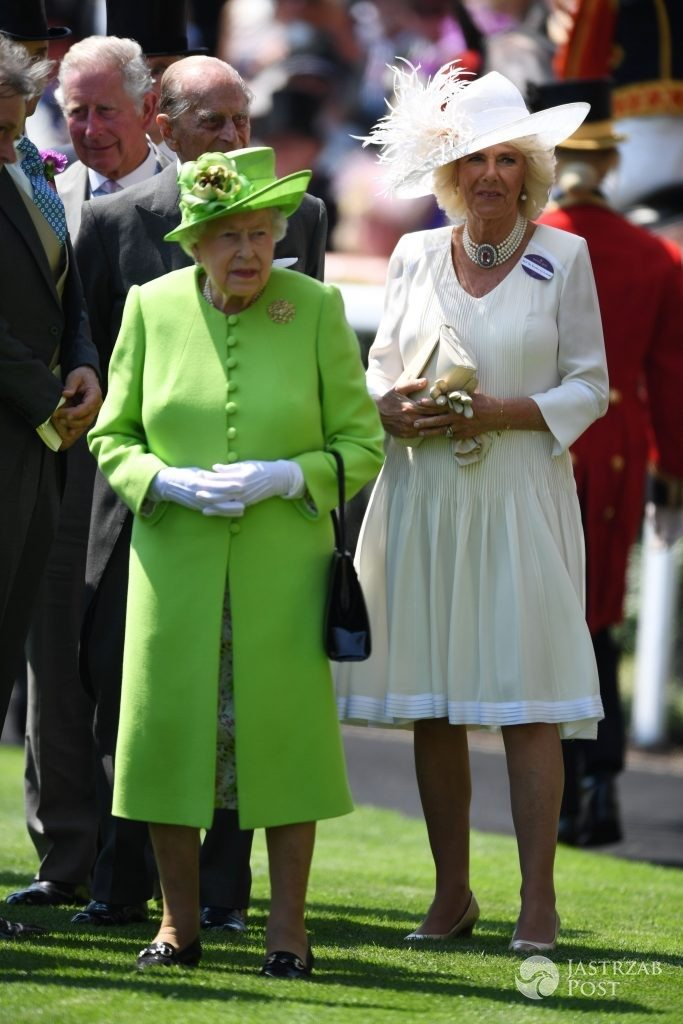 The Queen and Duchess of Cornwall Royal Ascot 2017
