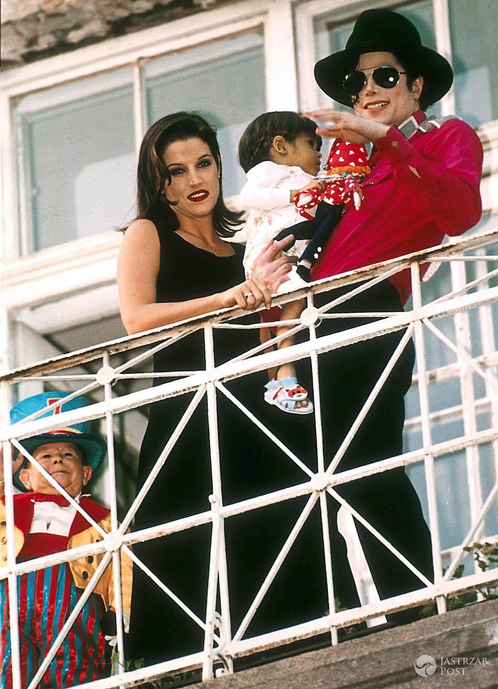 Lisa Marie Presley i Michael Jackson