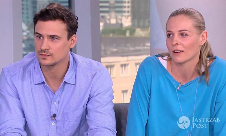 Mateusz Damięcki i Paulina Andrzejewska w Dzień Dobry TVN