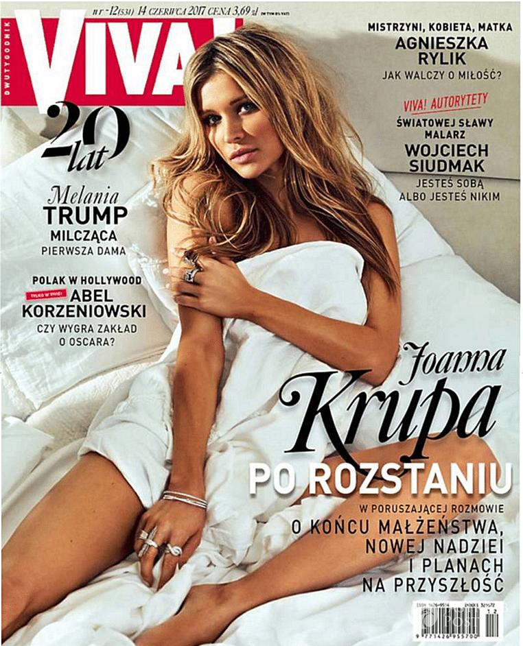 Joanna Krupa na okładce czerwcowej Vivy!