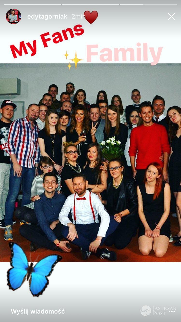 Edyta Górniak z fanami