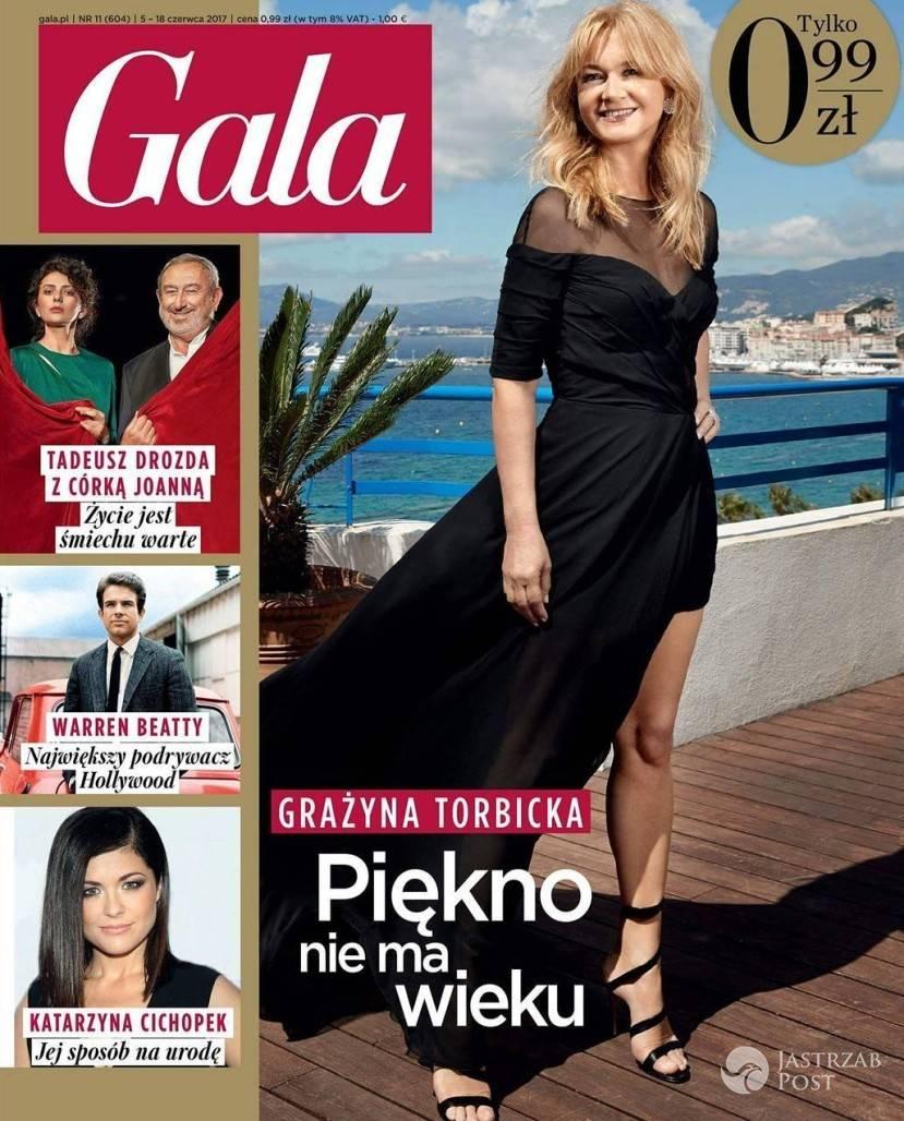 Grażyna Torbicka na okładce najnowszego numeru Gali