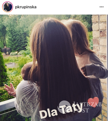 Paulina Krupińska z córką - Dzień Ojca 2017