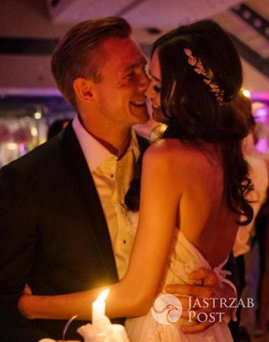 Jakub Rzeźniczak obchodzi pierwszą rocznicę ślubu