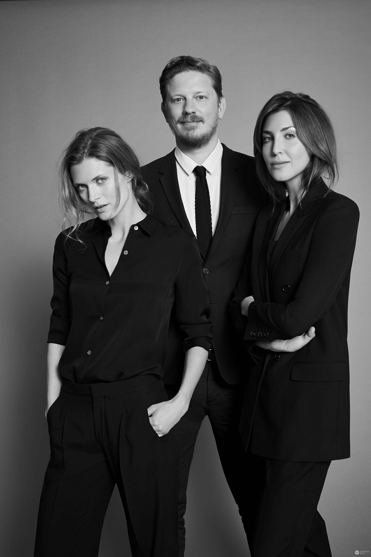 Małgorzata Bela, Filip Niedenthal, Katarzyna Kulczyk - redakcja Vogue Polska
