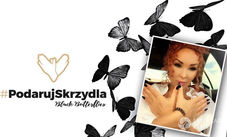 Charytatywna akcja #podarujskrzydla fundacji Black Butterflies