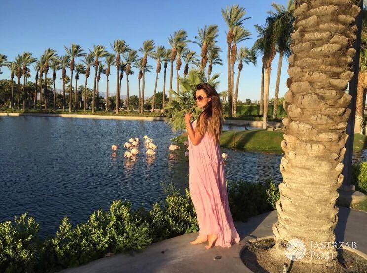 Natalia Siwiec w ciazy na wakacjach w Kalifornii