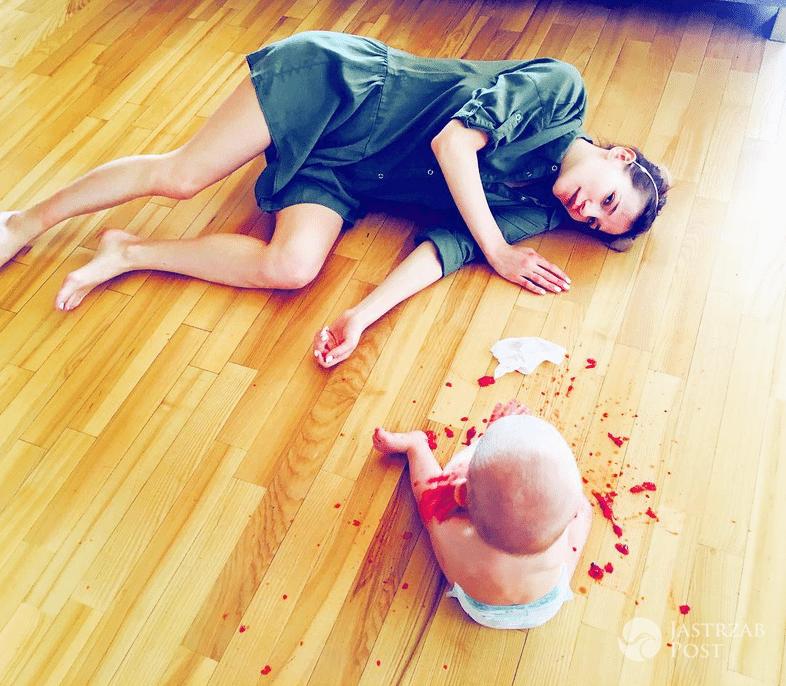 Maja Bohosiewicz z synem - Dzień Dziecka 2017, Instagram