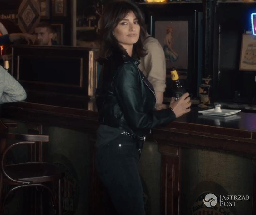 Penelope Cruz w reklamie polskiego piwa Karmi