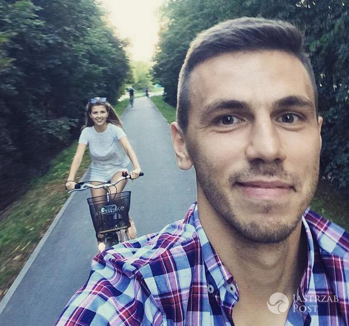Agnieszka Dziekan z chłopakiem piłkarzem