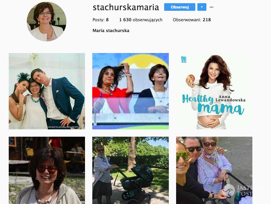 Maria Stachurska na Instagramie