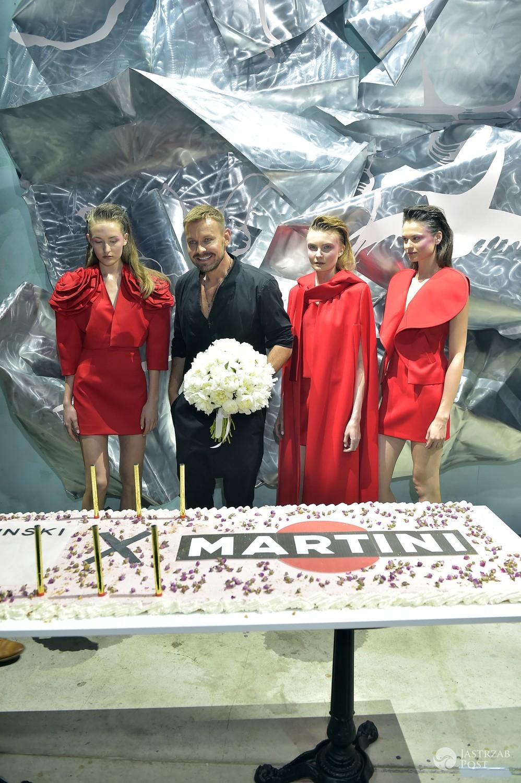 Dawid Woliński stworzył kolekcję inspirowaną Martini