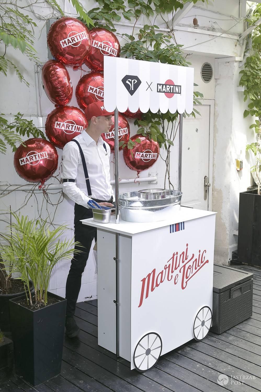 Bar Martini na pokazie Sabriny Pilewicz