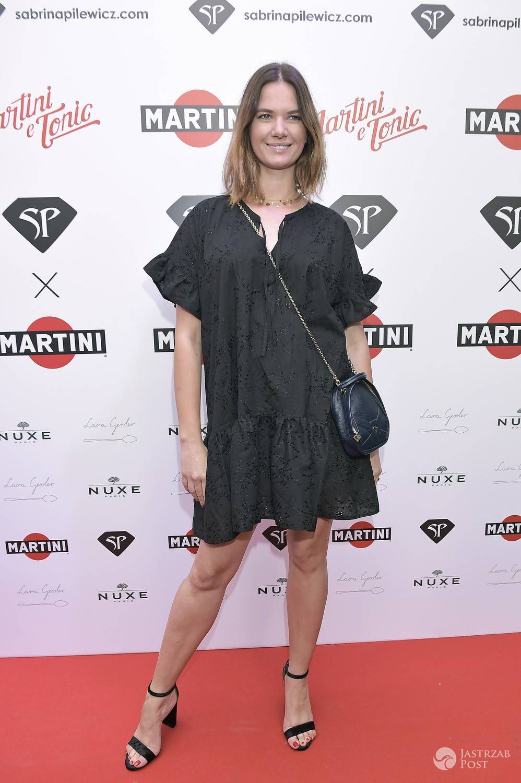Karolina Malinowska - pokaz Sabriny Pilewicz x Martini