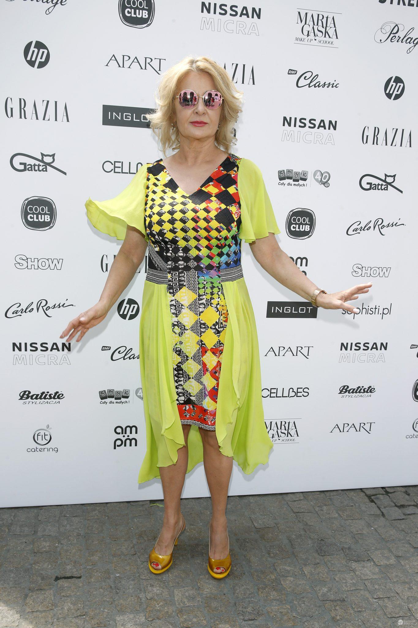 Majka Jeżowska - Warsaw Fashion Street 2017