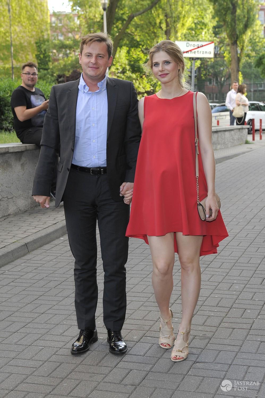 Izabela Zwierzyńska i Stanisław Gliniewicz - premiera spektaklu Skok w bok