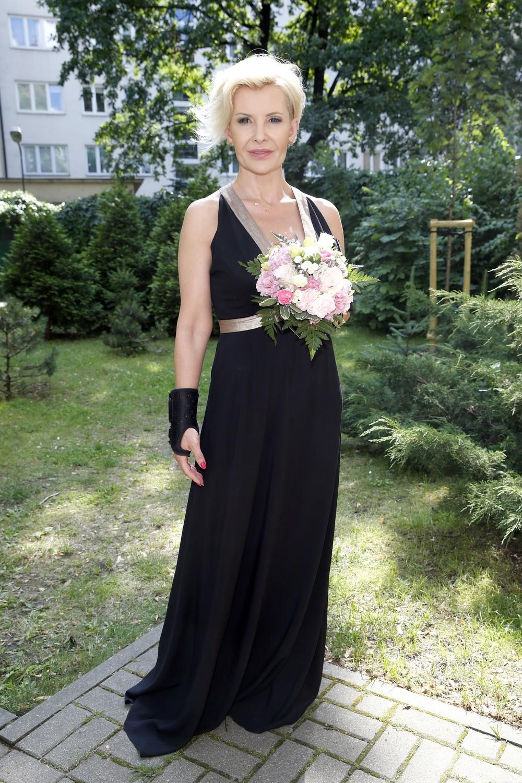 Joanna Racewicz - otwarcie butiku Violi Śpiechowicz