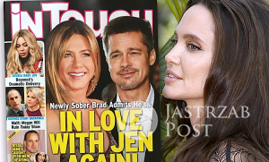 Brad Pitt i Jennifer Aniston Angelina Jolie