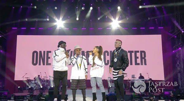 Ariana Grande i Black Eyed Peas na koncercie One Love Manchester