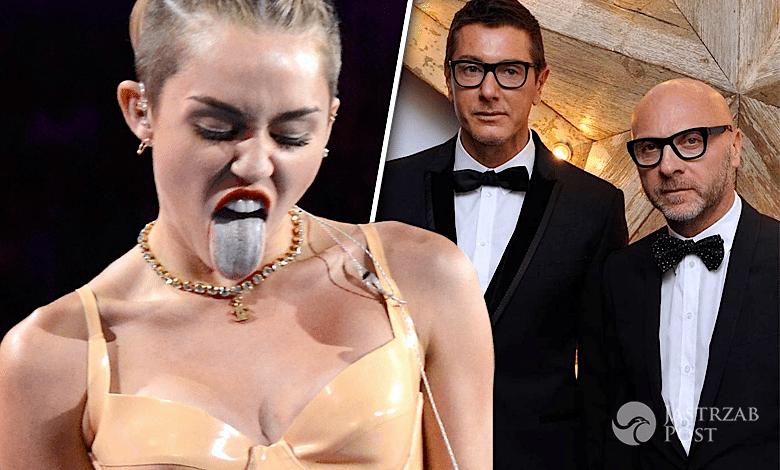 Miley Cyrus wojna z Dolce&Gabbana