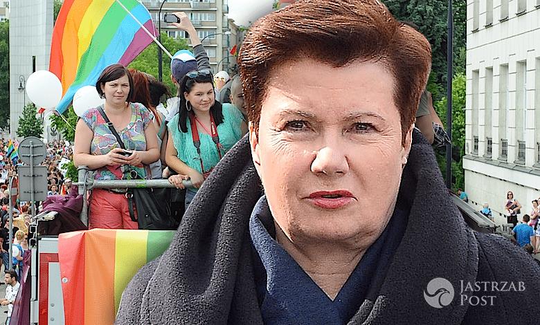 Hanna Gronkiewicz Waltz Parada Równości