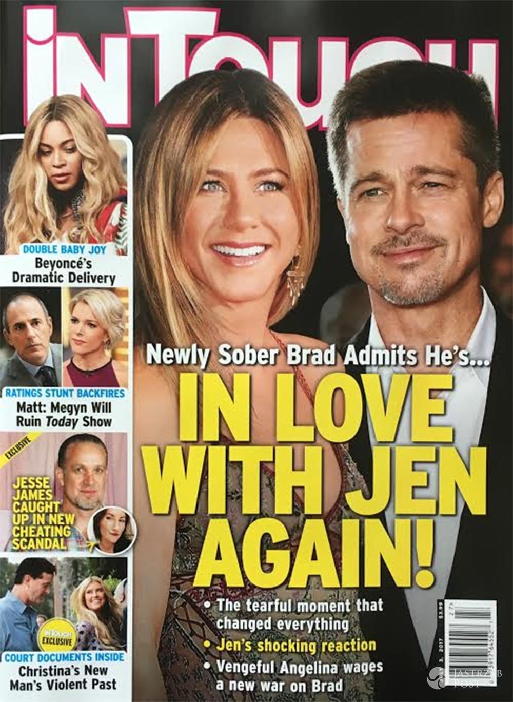 Brad Pitt i Jennifer Aniston nie mają się ku sobie