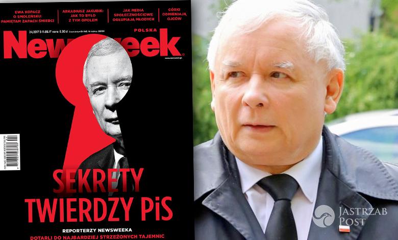 Jarosław Kaczyński Newsweek