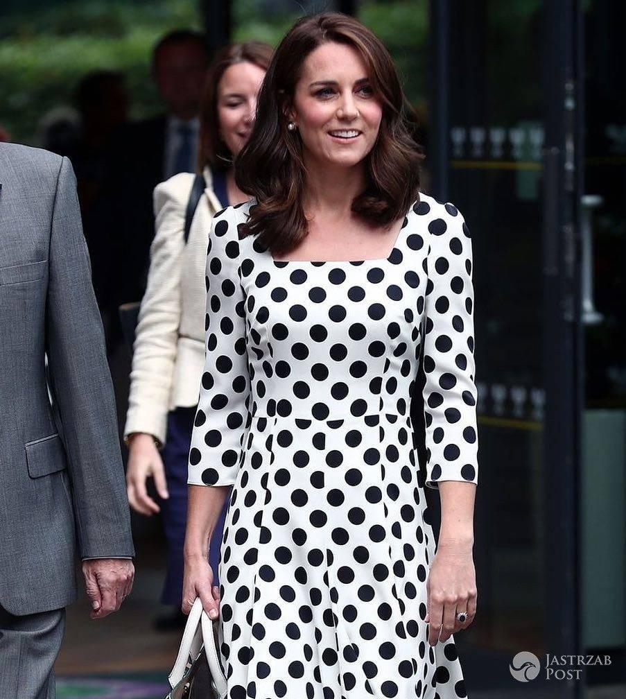 Księżna Kate na Wimbledonie w kreacji Dolce&Gabbana