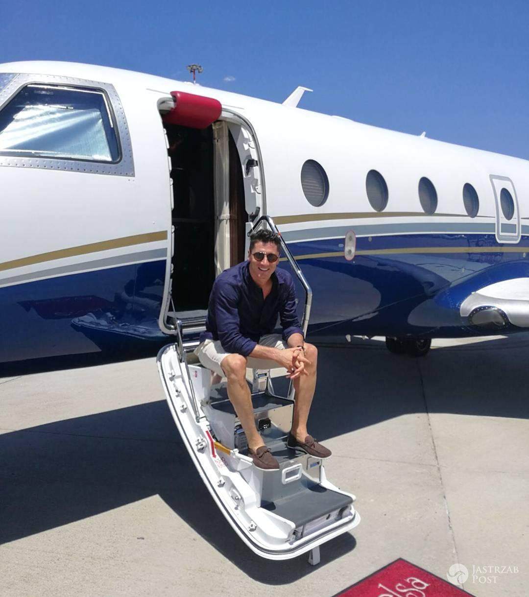 Robert Lewandowski prywatny samolot