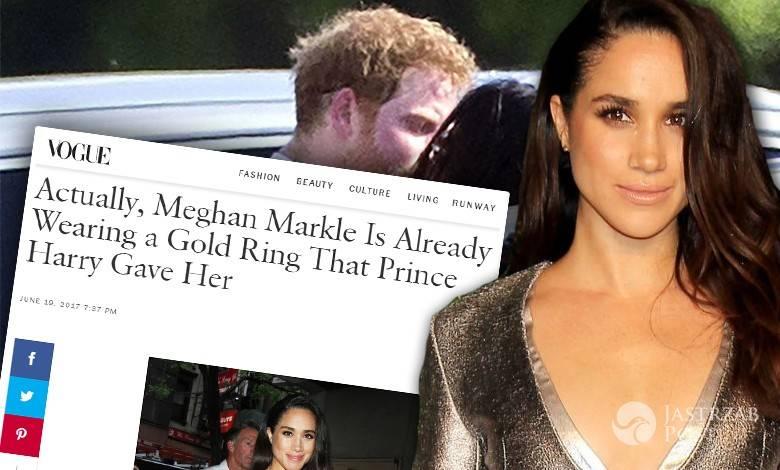 Meghan Markle i książę Harry są już zaręczeni?