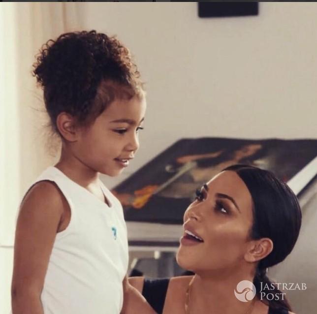 Kim Kardashian sprawiła North West szczeniaka na urodziny