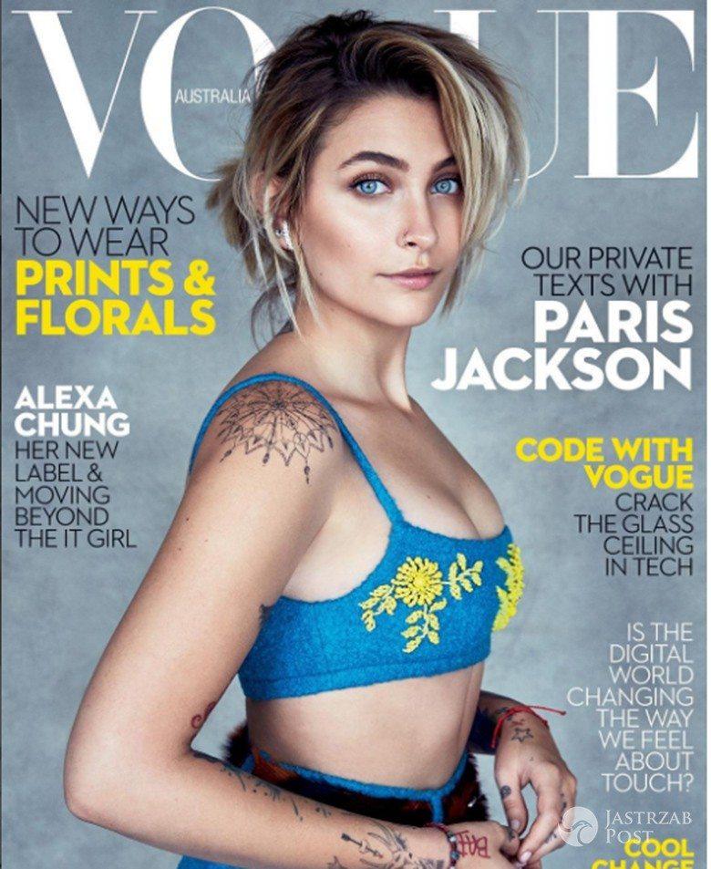 Paris Jackson na okładce Vogue Australia