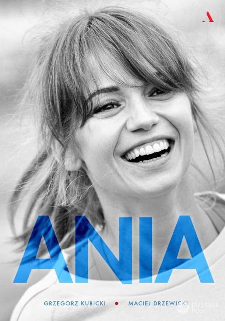 """Anna Przybylska - okładka biografii. Książka """"Ania"""""""