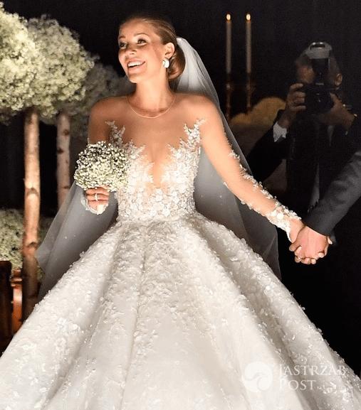 Znane Suknia ślubna Victorii Swarovski - Jastrząb Post ZD-87
